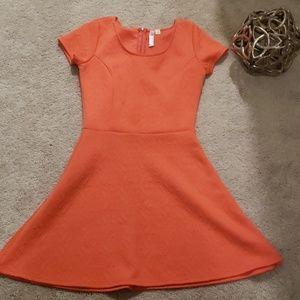 Francesca's Coral Dress